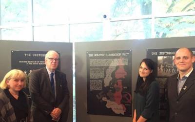 Wystawa: ?they were shot in the back of the head? została uroczyście otwarta w Muzeum Okupacji w Tallinnie